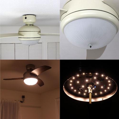 LED MEHVE IV,メーヴェ LED 調光 電球色 1灯 薄型 軽量 BRID(ブリッド)製シーリングファンライト