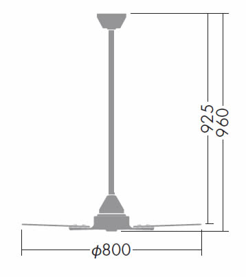 DP-38024 + DP-37652 DAIKO(ダイコー)製シーリングファン【生産終了品】