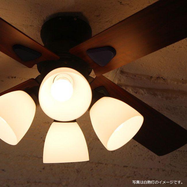 BIG-101BK + LD2602 / ND2602,Windouble(4-lights)ウィンダブル LED 電球色/昼白色 4灯 HANWA(阪和)ハンワ製シーリングファンライト