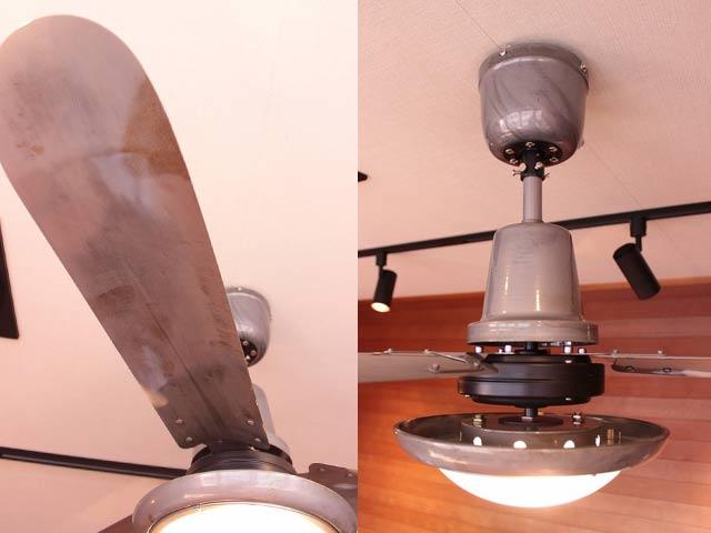 L-0030-SV,TRISLANDER(トライスランダー) 電球色 2灯 軽量 HERMOSA(ハモサ)製シーリングファンライト