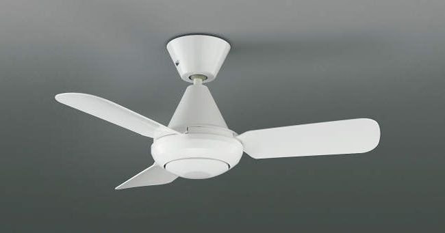 AEE695093 大風量 傾斜対応 軽量 コイズミ製シーリングファン【KFF002】 <公式>シーリングファン・ライト通販専門店   ファズー【品揃え日本一】