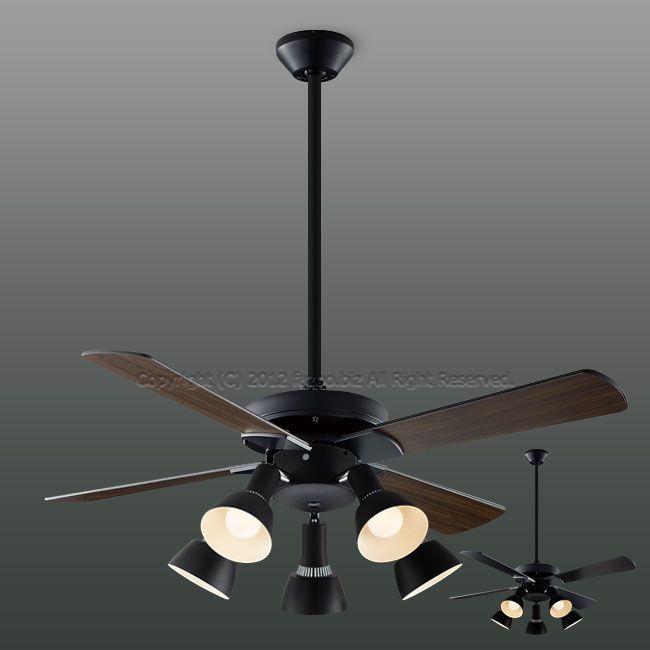 AM47471E + AA47473L / AA47473L(N) + AEE590168 傾斜対応 LED 電球色/昼白色 5灯 KOIZUMI(コイズミ)製シーリングファンライト