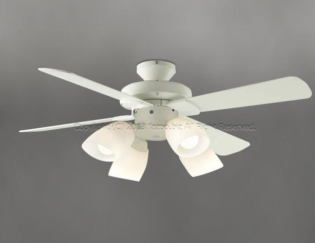 AEE695070 + AA43193L / AA43193L(N) LED 電球色/昼白色 4灯 薄型 KOIZUMI(コイズミ)製シーリングファンライト