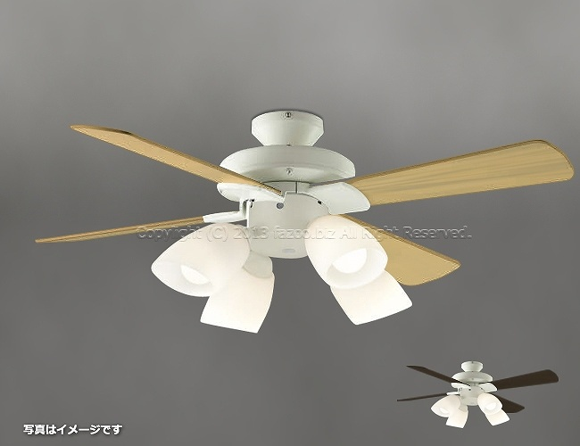 AEE695070 + AA43193L / AA43193L(N) + AE40393E LED 電球色/昼白色 4灯 薄型 KOIZUMI(コイズミ)製シーリングファンライト