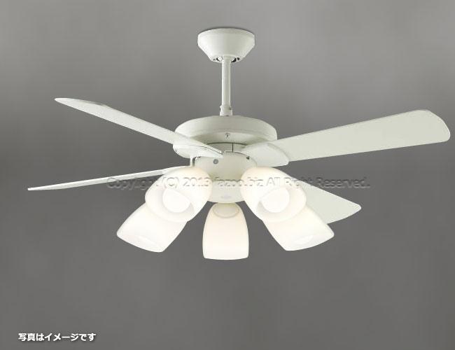 AEE695071 + AA43192L / AA43192L(N) 傾斜対応 LED 電球色/昼白色 5灯 KOIZUMI(コイズミ)製シーリングファンライト