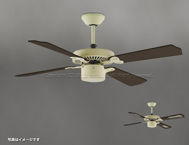 AM40386E + AE40392E,羽根デザイン(ラタン柄) 大風量 傾斜対応 軽量 KOIZUMI(コイズミ)製シーリングファン