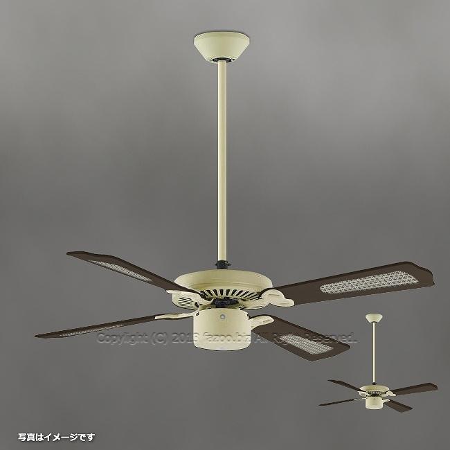 AM40386E + AEE590240 + AE40392E,羽根デザイン(ラタン柄) 大風量 傾斜対応 軽量 KOIZUMI(コイズミ)製シーリングファン