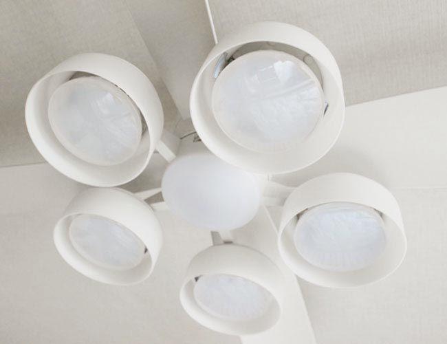 WF810 + WF822LD / WF822ND 大風量 LED 電球色/昼白色 5灯 薄型 軽量 ODELIC(オーデリック)製シーリングファンライト