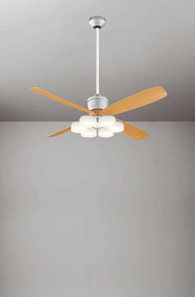 WF081(080#+911#) + WF066LD / WF066ND + WF612 大風量 傾斜対応 LED 電球色/昼白色 6灯 ODELIC(オーデリック)製シーリングファンライト