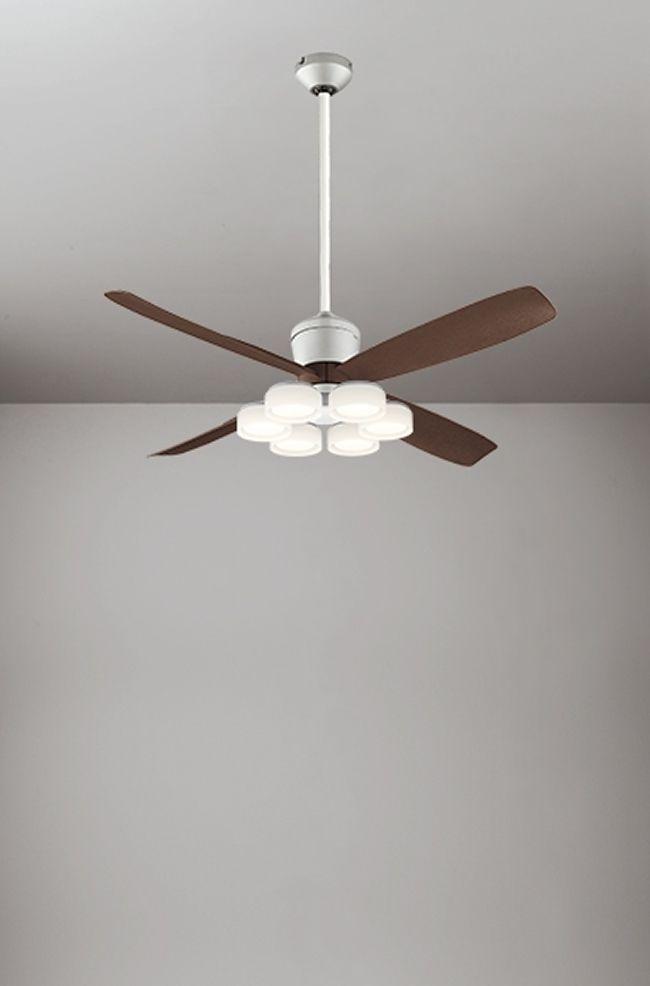 WF080(080#+910#) + WF066LD / WF066ND + WF612 大風量 傾斜対応 LED 電球色/昼白色 6灯 ODELIC(オーデリック)製シーリングファンライト