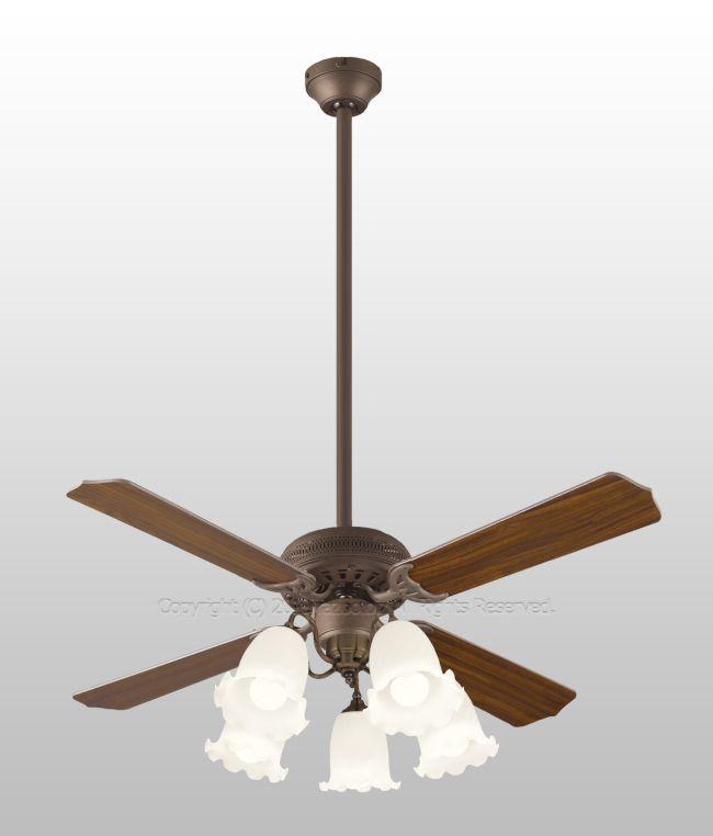 WF772P2 + WF778PC + WF879P1 大風量 傾斜対応 LED 調光調色(電球色-昼白色) 5灯 ODELIC(オーデリック)製シーリングファンライト