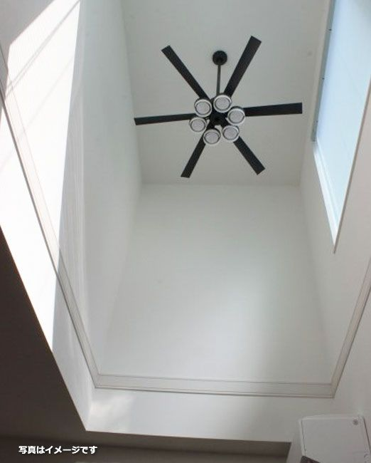 WF249 + WF270PC + WF738 大風量 傾斜対応 LED 調光調色(電球色-昼白色) 5灯 ODELIC(オーデリック)製シーリングファンライト