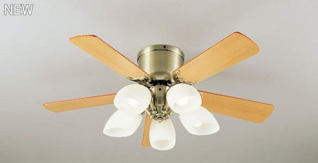 WF446LC2 / WF446NC2 LED 調光 電球色/昼白色 5灯 薄型 ODELIC(オーデリック)製シーリングファンライト