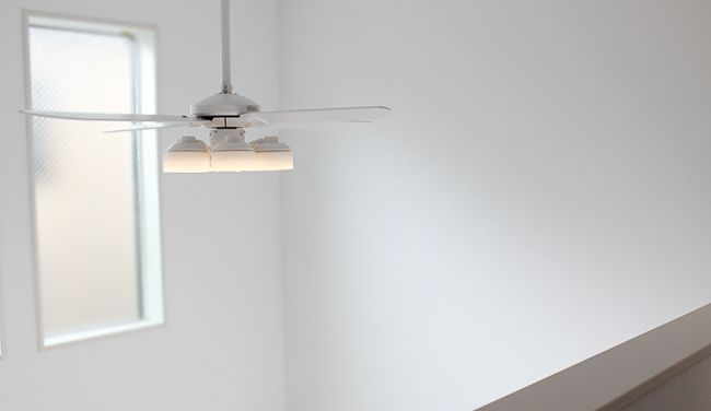 WF801P1 + WF266PC + WF973 傾斜対応 LED 調光調色(電球色-昼白色) 6灯 ODELIC(オーデリック)製シーリングファンライト