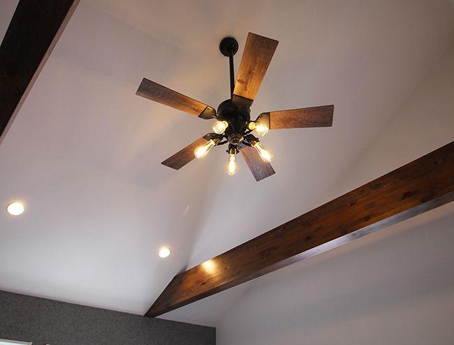 WF833 + WF835LC + WF837 傾斜対応 LED 調光 電球色 5灯 軽量 ODELIC(オーデリック)製シーリングファンライト