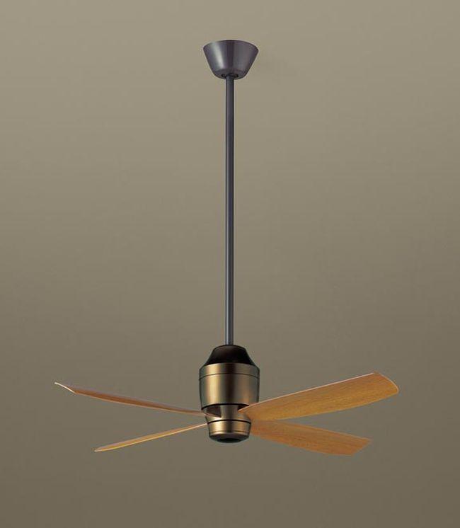 XS7310/SP7073 + SPK013K + SPK073 大風量 傾斜対応 軽量 Panasonic(パナソニック)製シーリングファン