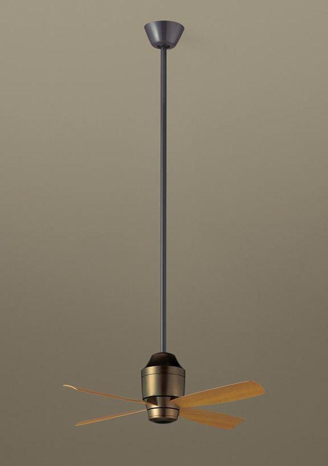 XS7850/SP7078 + SPK103 + SPK073 傾斜対応 軽量 Panasonic(パナソニック)製シーリングファン