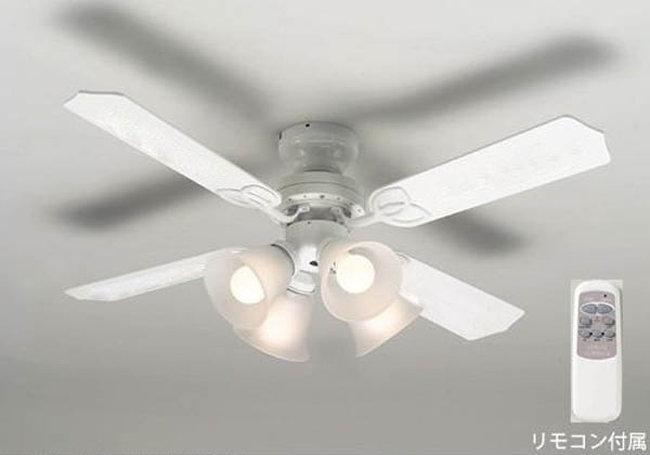 TKM-42WW4LKRCZ + LC2601 /  大風量 LED 調光 電球色 4灯 軽量 TOKYOMETAL(東京メタル工業)製シーリングファンライト