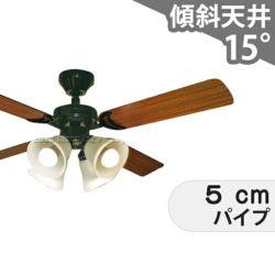 TDC42001BKRCLD 東京メタル工業製シーリングファンライト メイン画像