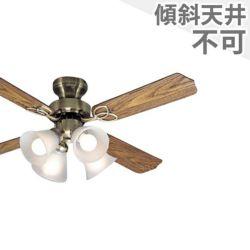 TKM-42AB4LKRCZ 東京メタル工業製シーリングファンライト メイン画像