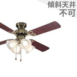 TKM-42AB4LKNDZ + LD2602 / ND2602 東京メタル工業製シーリングファンライト メイン画像