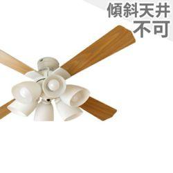 QJ-46WW6RCND 東京メタル工業製シーリングファンライト メイン画像