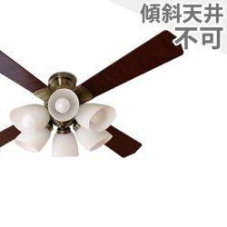 QJ-46AB6RCLE6 東京メタル工業製シーリングファンライト メイン画像