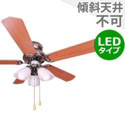 ND-CFL-PC + LD2602 / ND2602 / ND-CFL-PC(L) 日本電興製シーリングファンライト メイン画像