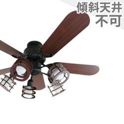 YCF-377BK + LD2602 / ND2602 ユーワ製シーリングファンライト メイン画像